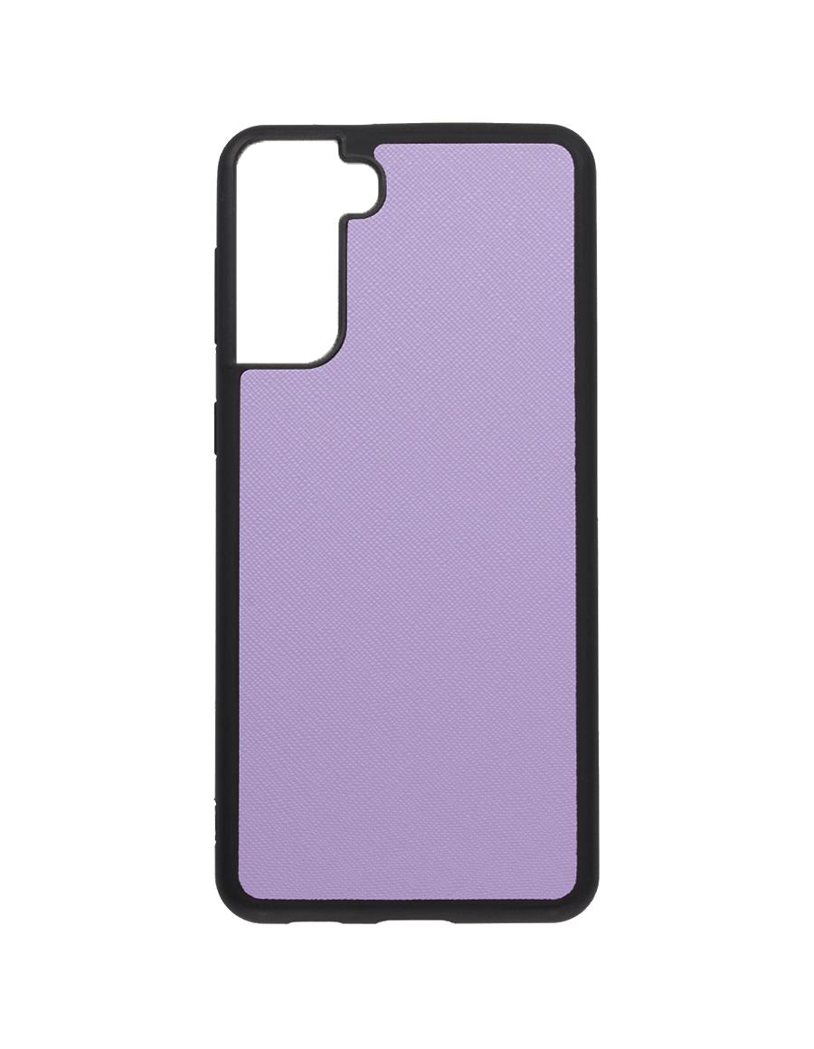 Lilac Saffiano Vegan Samsung S21 Plus Case