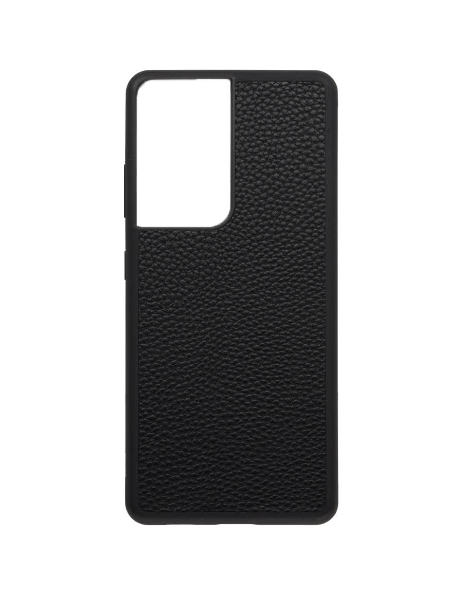 Black Vegan Samsung S21 Ultra Case