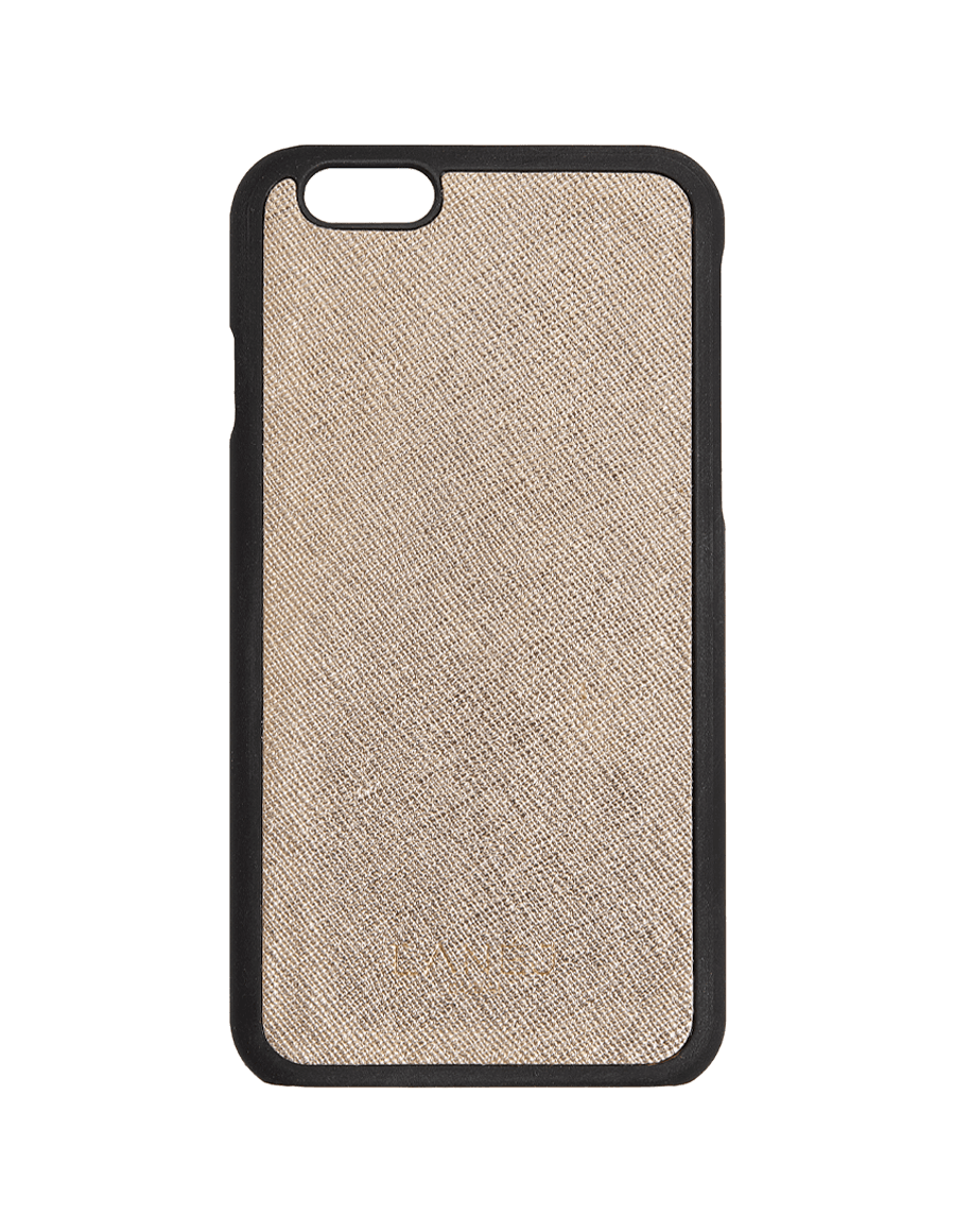 Shiny Gold Saffiano Iphone 6/6S
