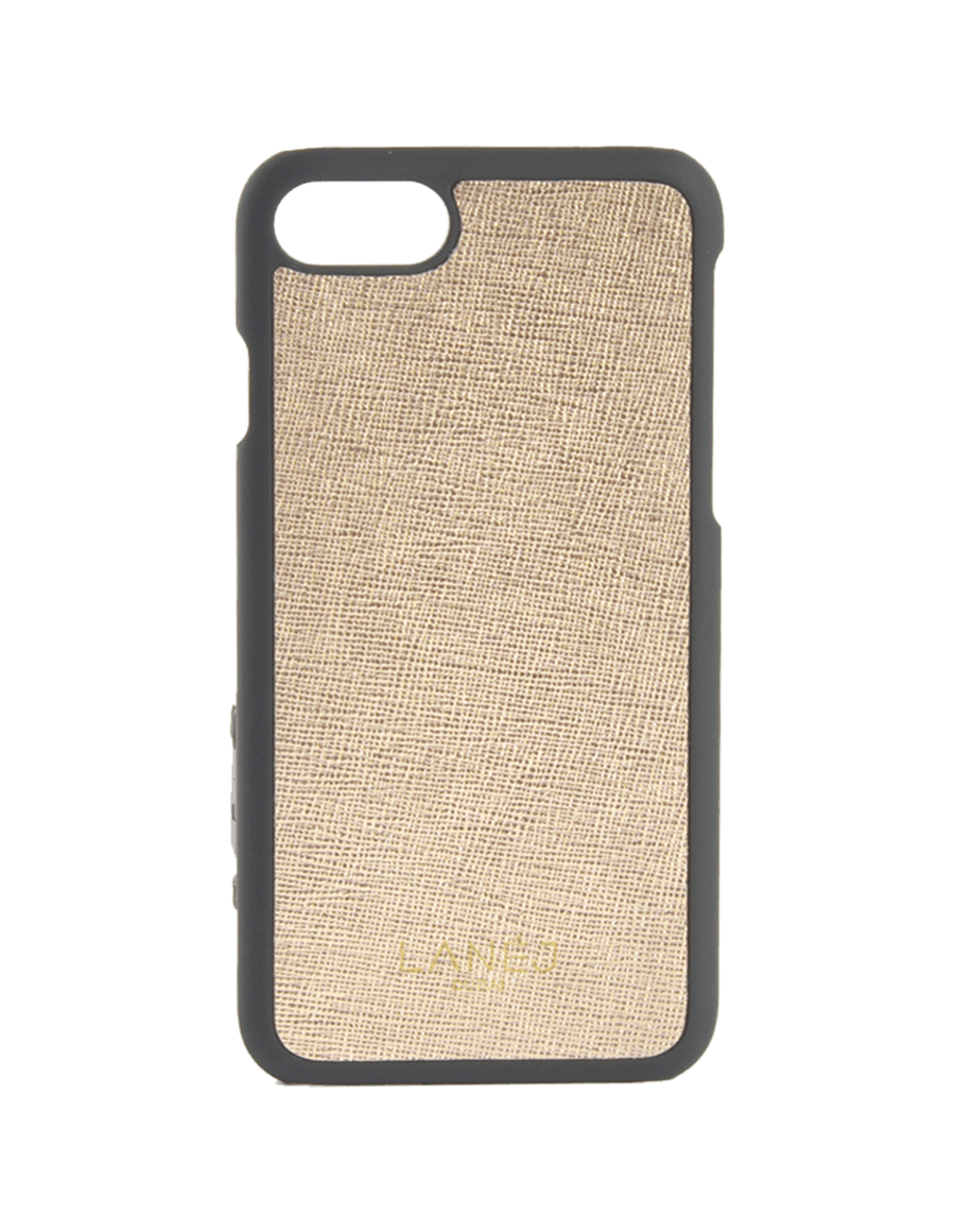 Shiny Gold Saffiano Iphone 7/8