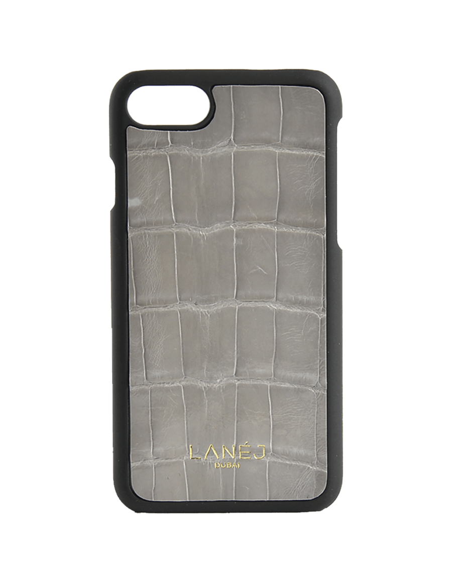 Slate Grey Croc Iphone 7/8 With Border