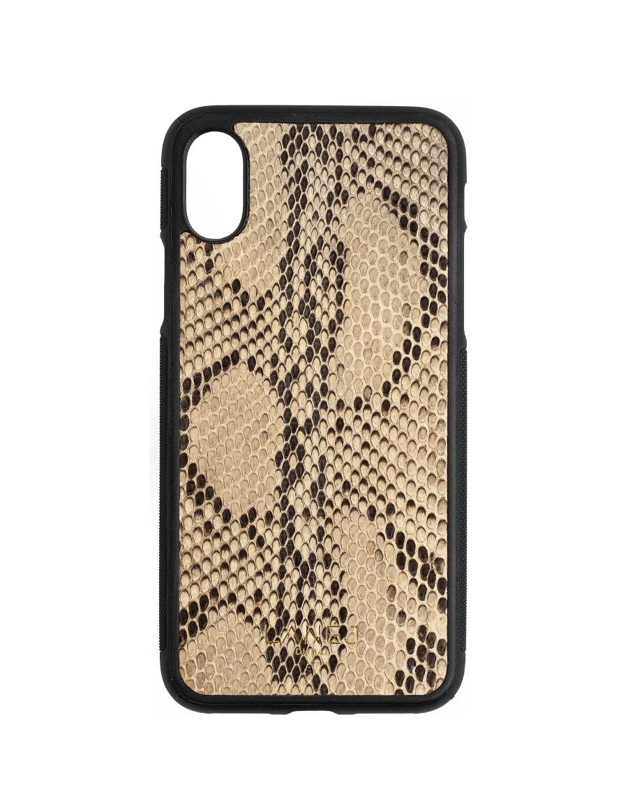 Snake Skin Iphone X With Black Frame