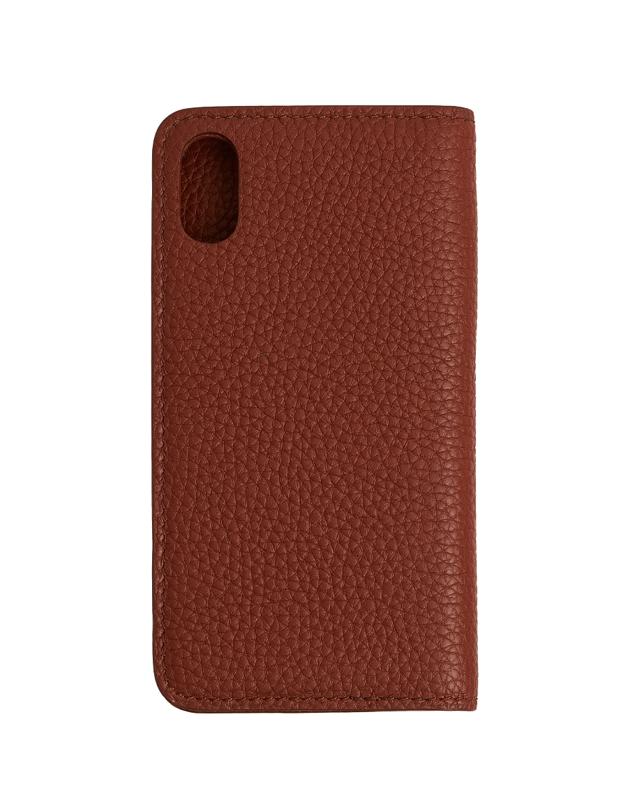 Tan Togo Bifold Iphone X Case