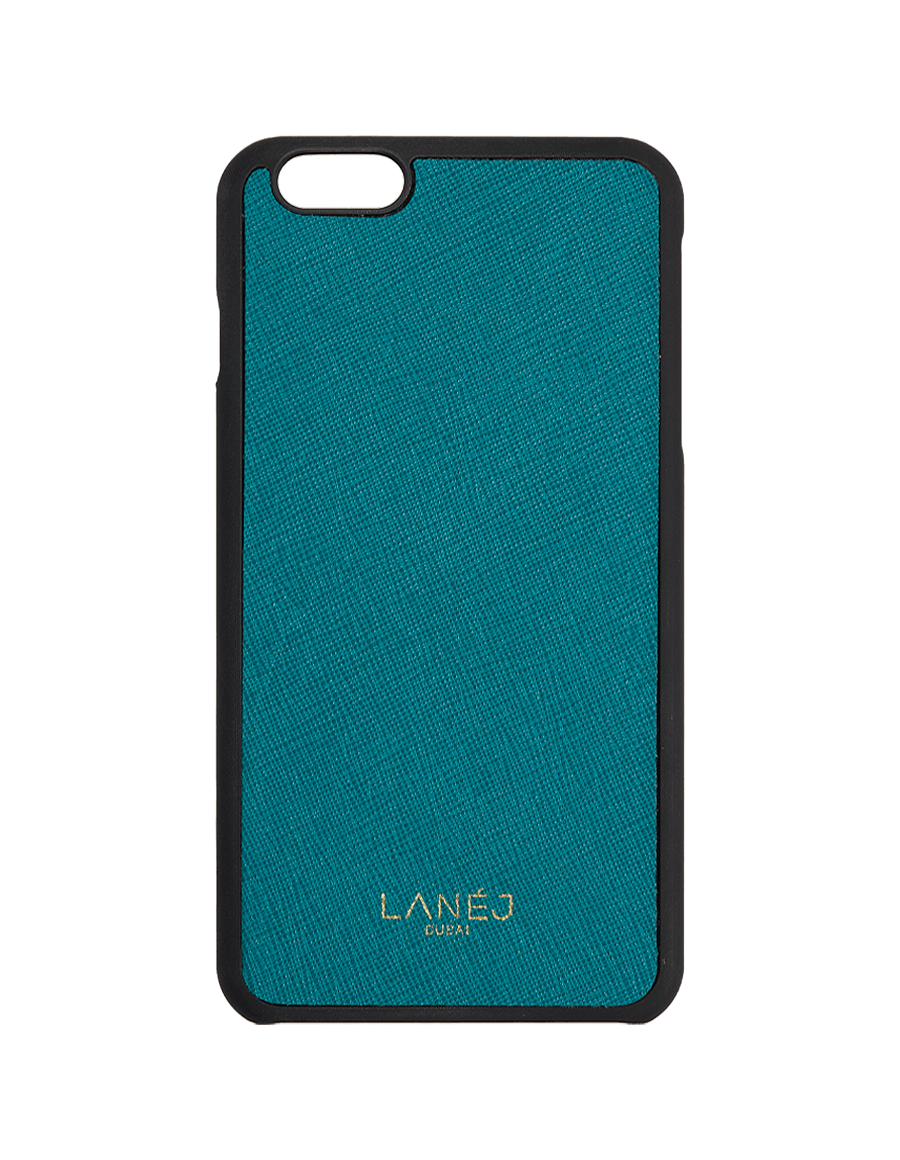 Teal Saffiano Iphone 6+/6S+