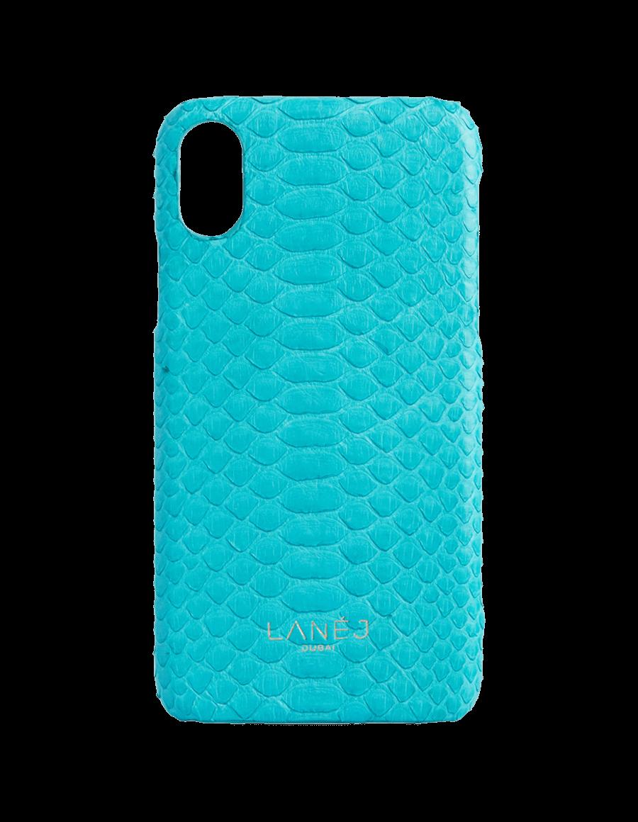 Tiffany Blue Python Iphone X/XS