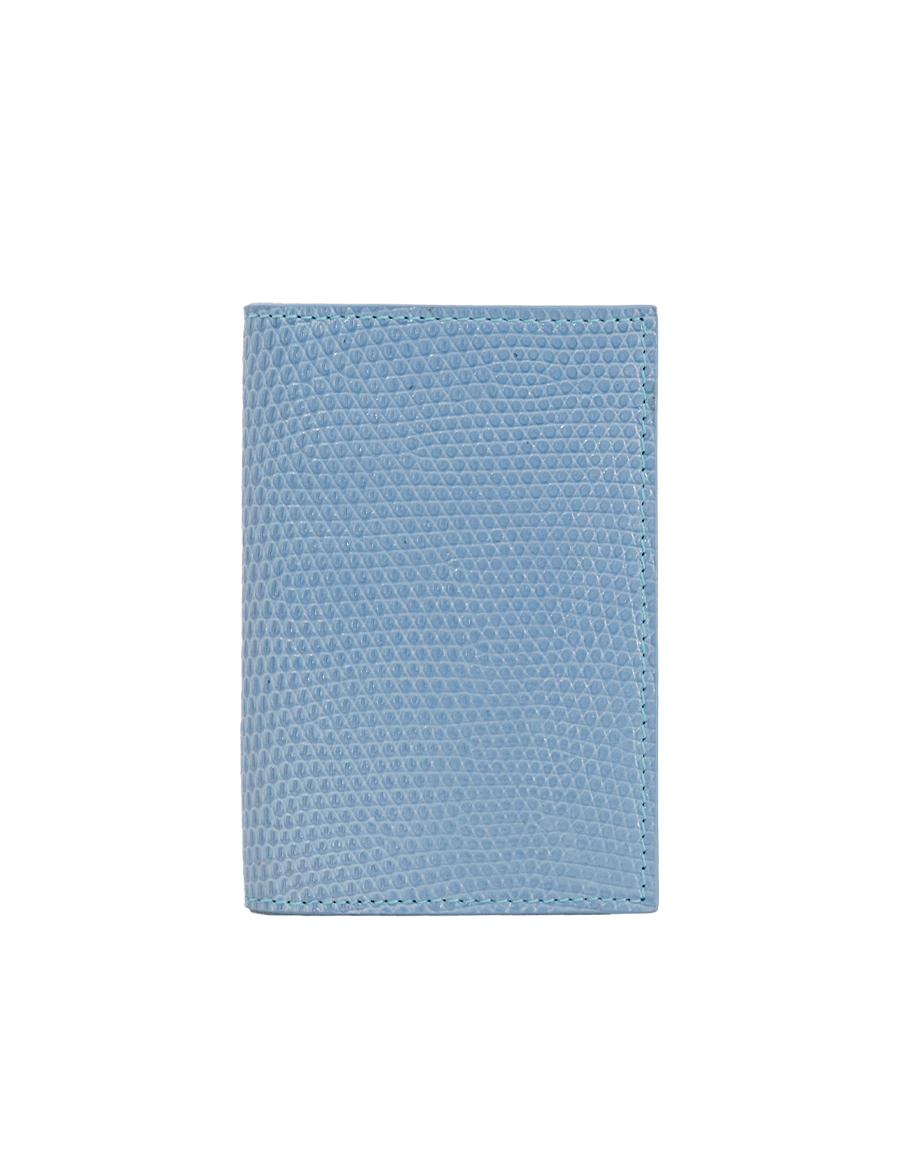 Topaz Lizard Bi-Fold Holder